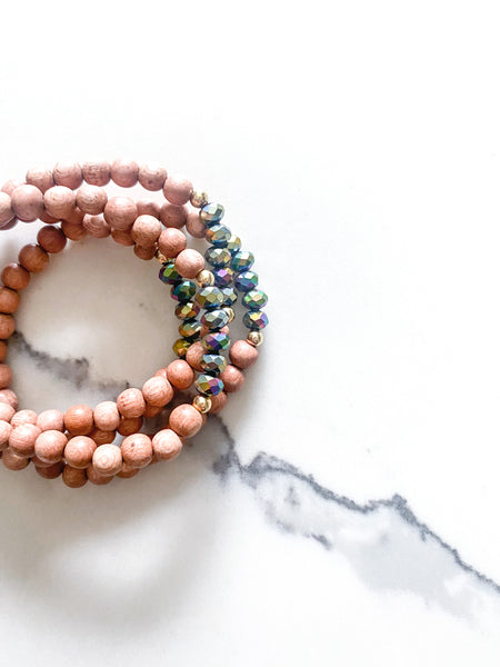 Happy Bracelet Mini | Crystals