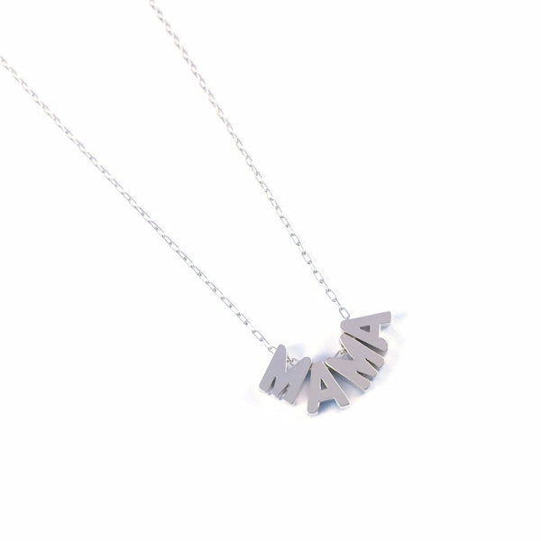 Mama Necklace | Uppercase Silver