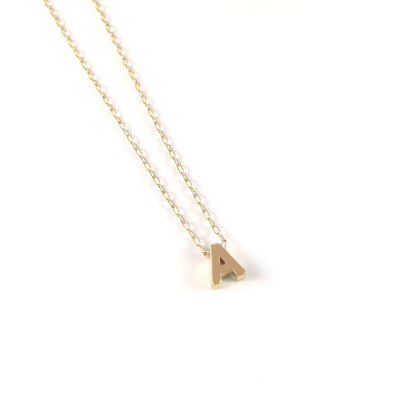 Initial Necklace | Uppercase
