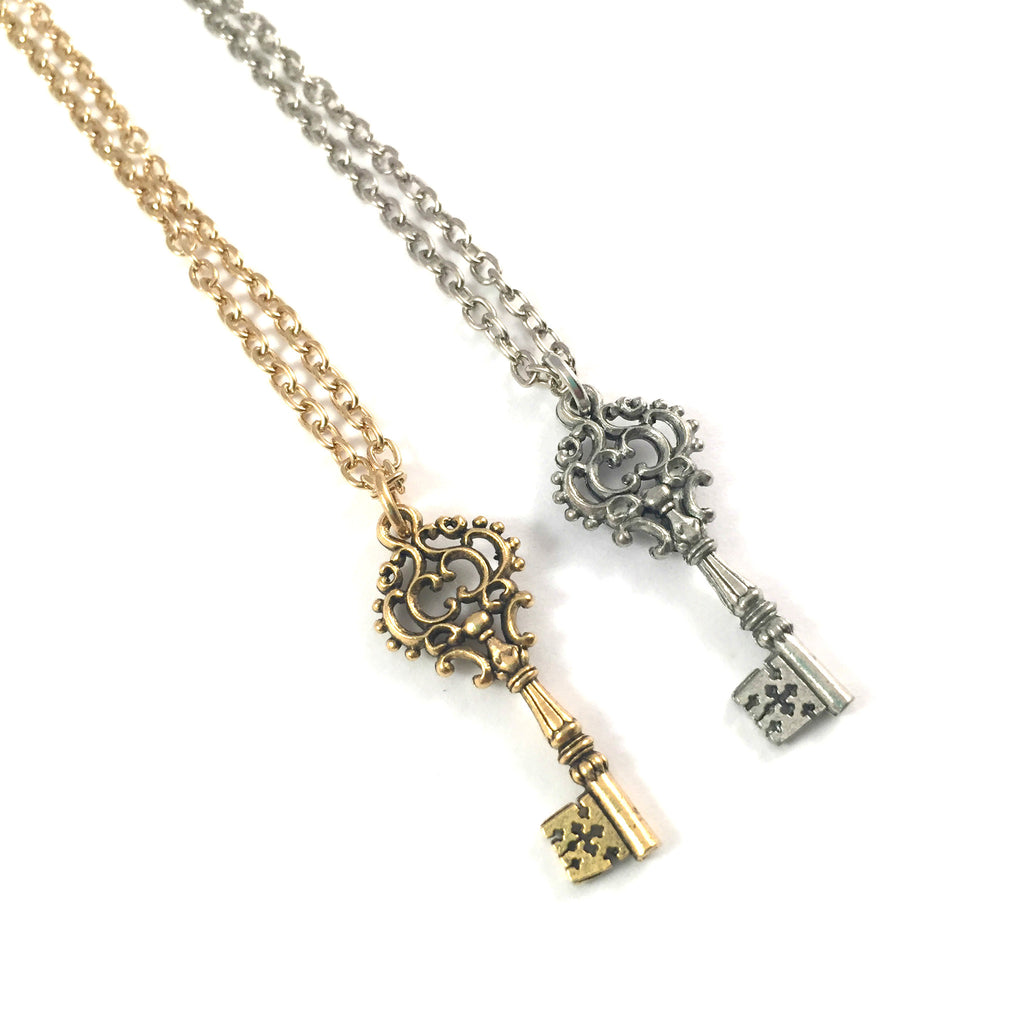 My Secret Key Necklace | f + o