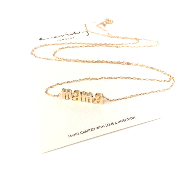 Mama Necklace | Uppercase