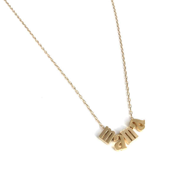 Mama Necklace | Lowercase