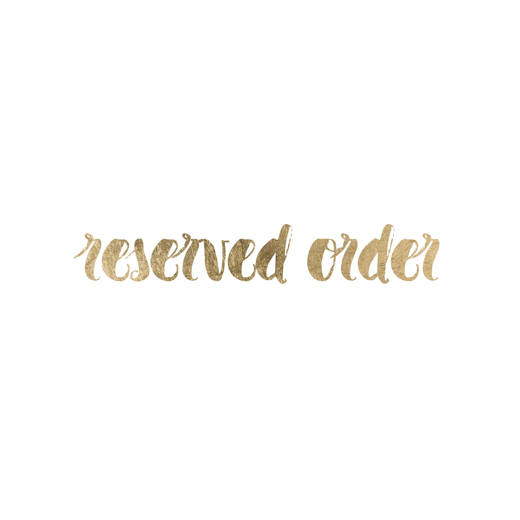 Reserved Order - Lauren Tuvel