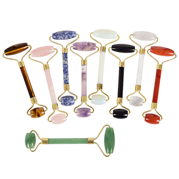 Gemstone Facial Rollers | Assorted Gemstones