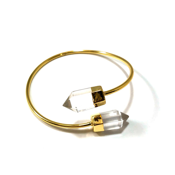 JUJU Crystal Point Bangle