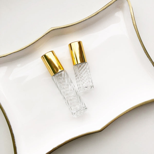 Glass Roller Bottle | Bisou | 5ml + 10ml Sets