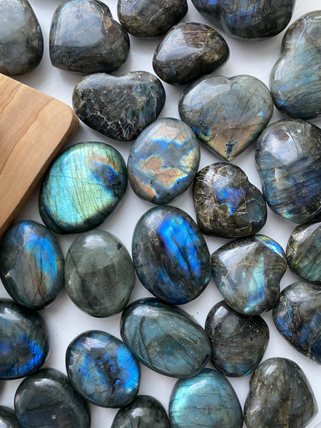 Labradorite Mermaid Palms
