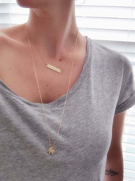 SALE | Courageous Elephant Necklace