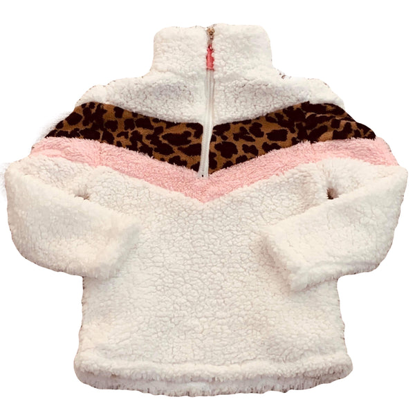 PINK PANTHER SHERPA - ADULT + CHILD - MAMA + LULU
