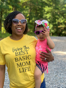 BEST BASIC MOM - ADULT TEE/TANK - MAMA + LULU