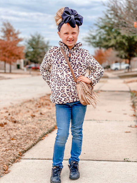 LEOPARD PULLOVER - ADULT + CHILD - MAMA + LULU