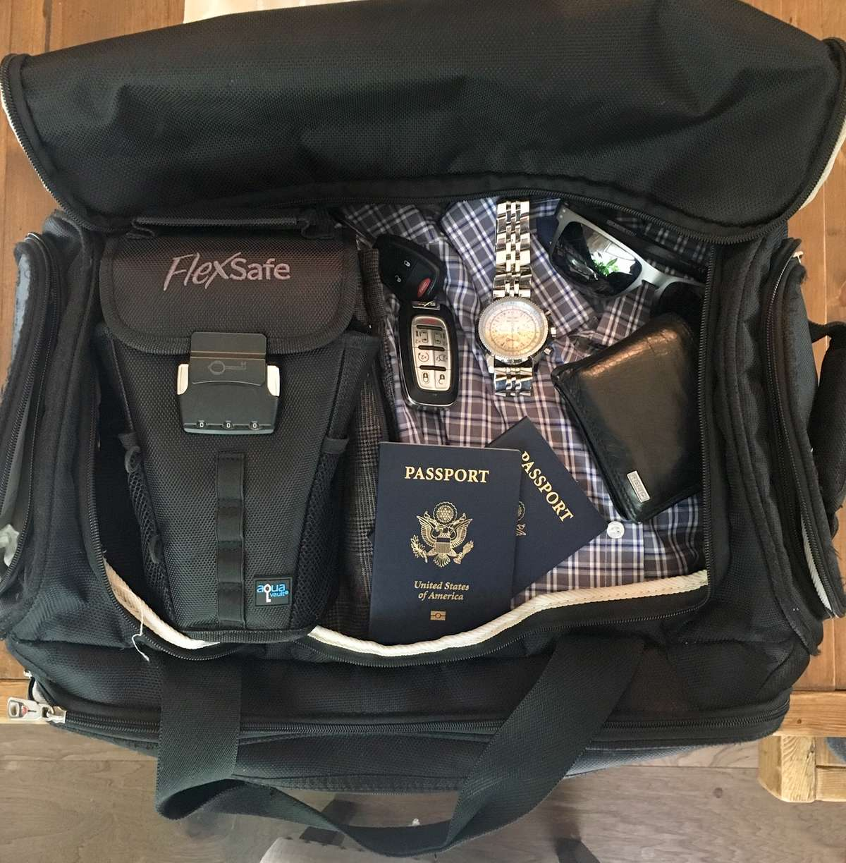 FlexSafe is So Easy To Pack
