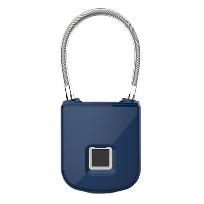 Biometric Fingerprint Lock with Interchangeable Cables - AquaVault Portable Safe