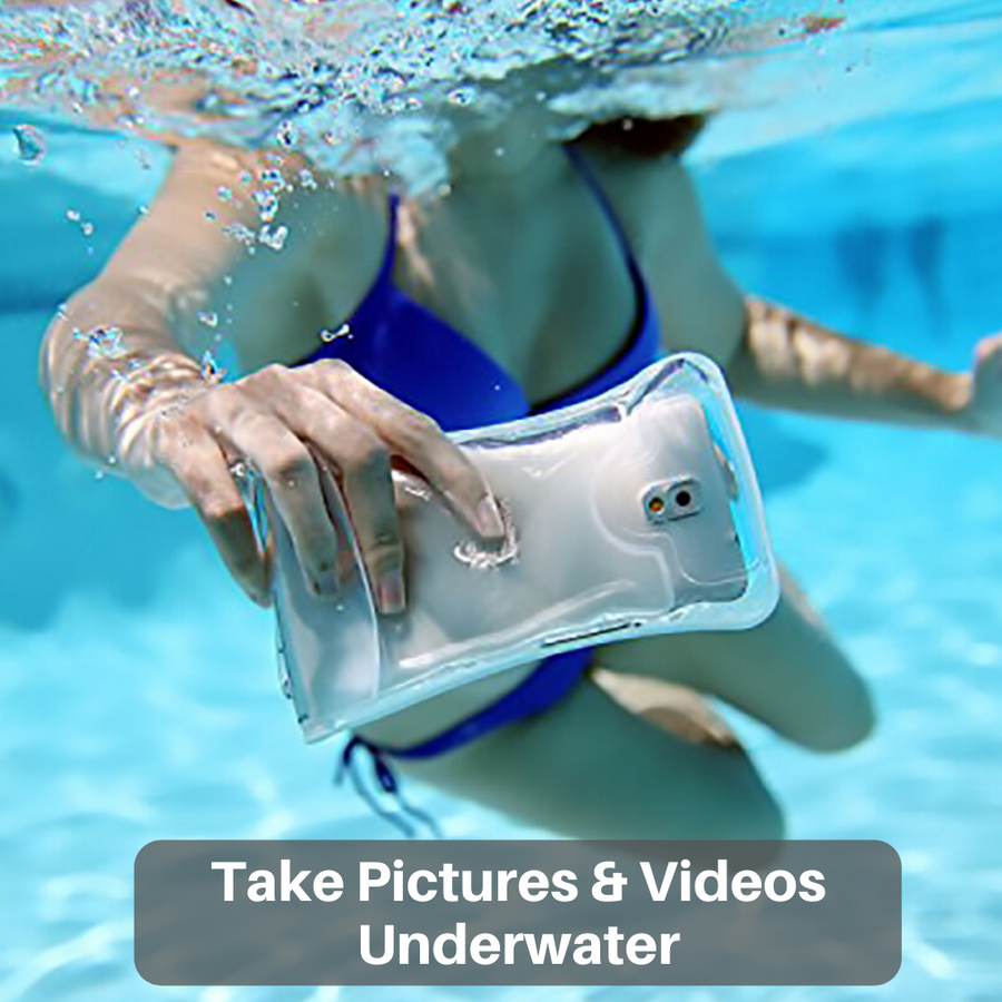 Waterproof Floating Phone Case by AquaVault