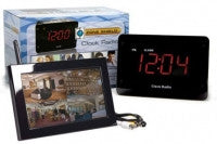 C1530 - Zone Shield Clock Radio QUAD LCD -
