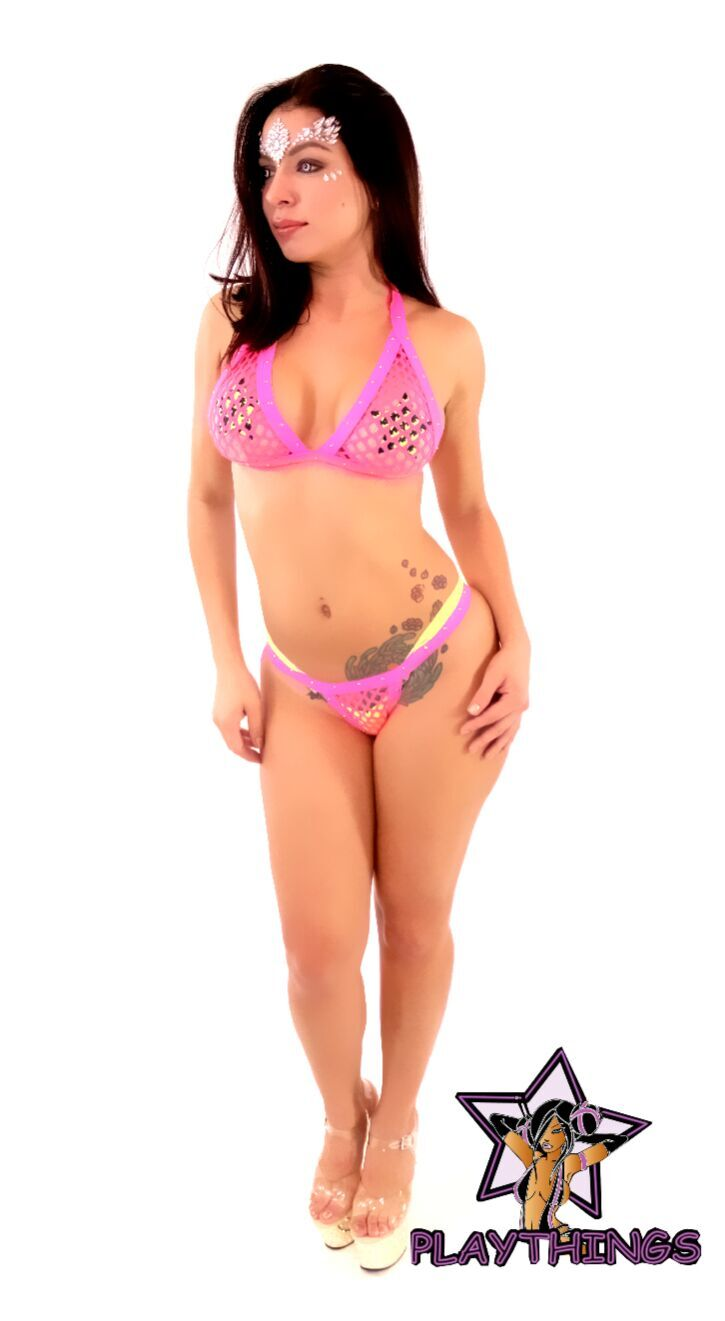 Fishnet 2pc Micro Bikini - PlaythingsMiami