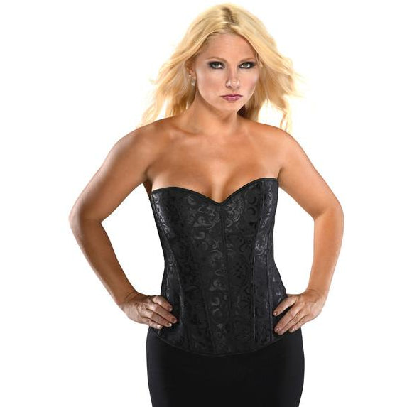 Brocade Strapless Corset - PlaythingsMiami