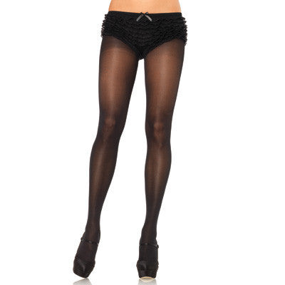 Opaque Sheer Waist Tights