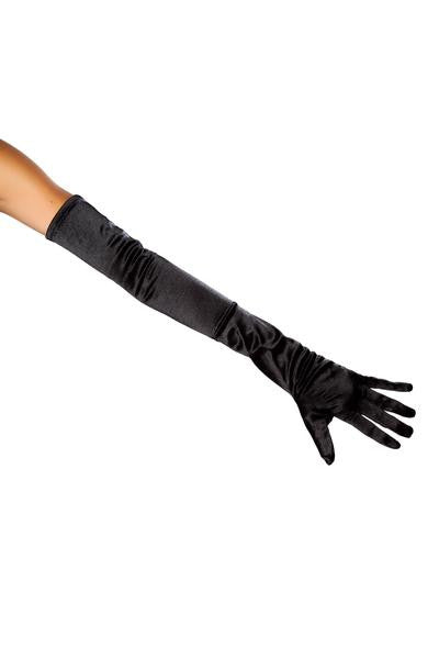Stretch Satin Gloves - PlaythingsMiami
