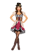 10105 - Confidential Society 1pc Sassy Steampunk Costume
