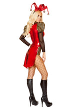 10107 - Confidential Society 3pc Rascal Jester Costume