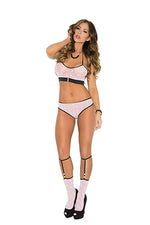3pc Cami set and matching Knee Hi Stockings