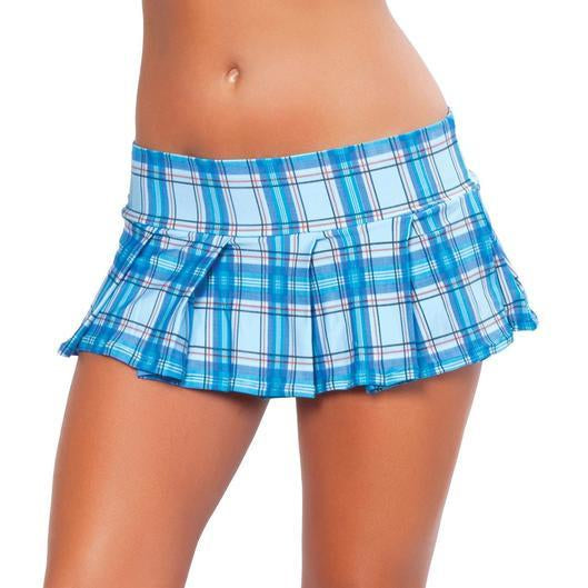 Pleated School Girl Skirt - PlaythingsMiami