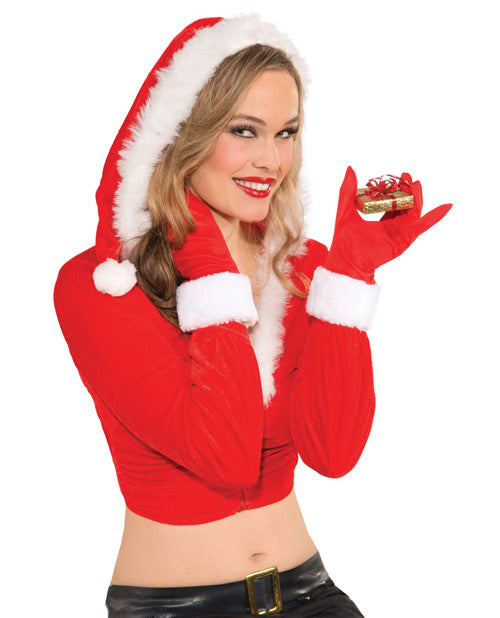 Red Christmas Gloves for Her