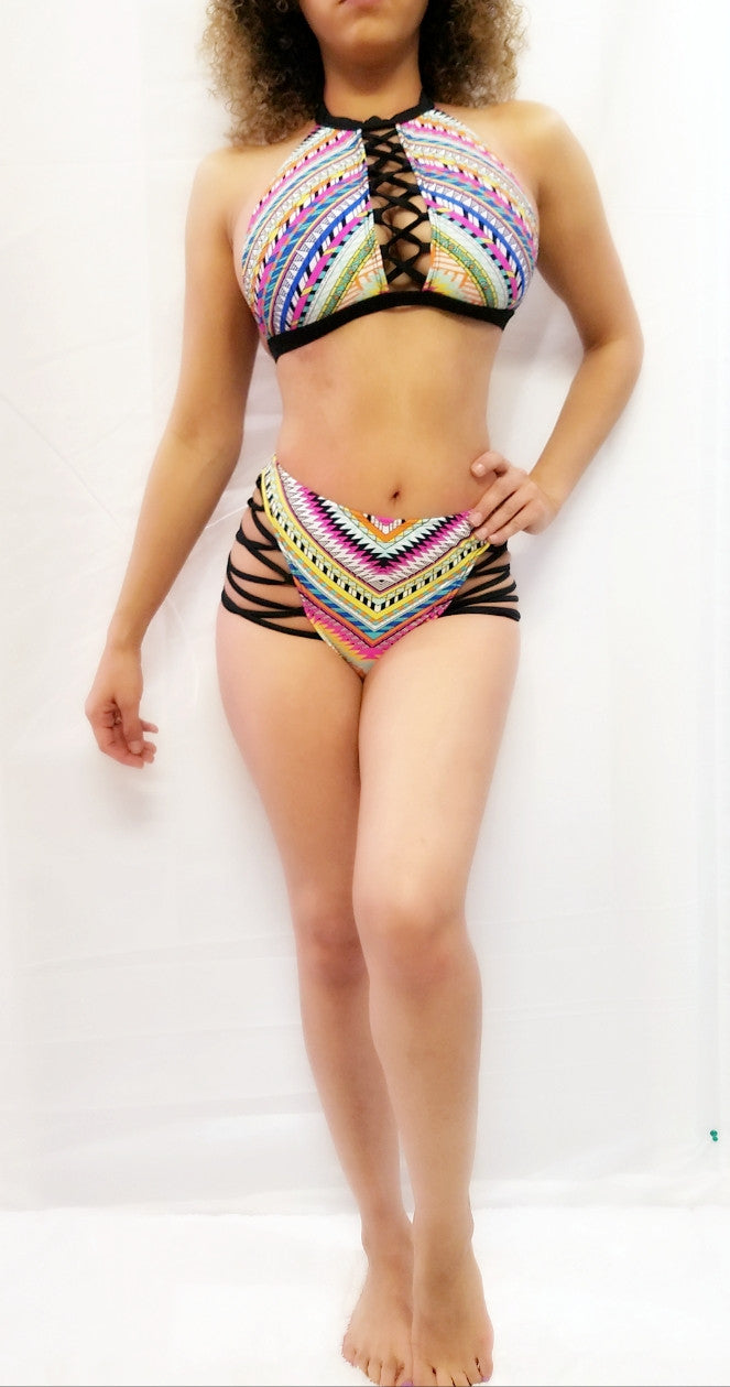 *New Collection* Strappy Swimwear Set - PlaythingsMiami