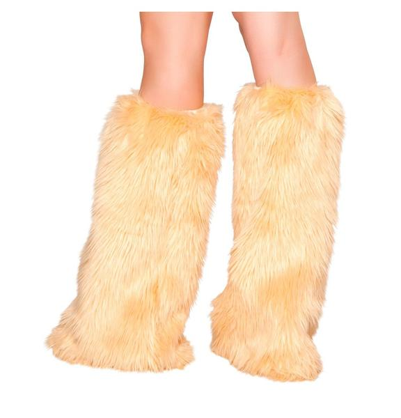 Fur Leg Warmers *Assorted Colors Available*