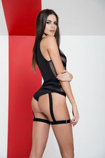 Bodysuit with Garter 2531 - PlaythingsMiami