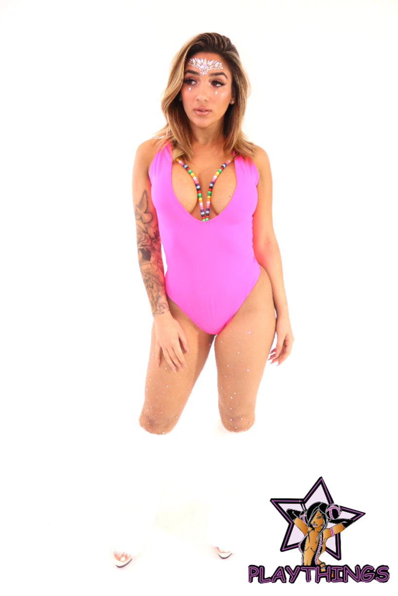 *Exclusive* Iris Beaded Bodysuit - PlaythingsMiami