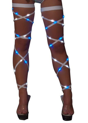 "Light up 100"" Leg Straps *Assorted Colors* - PlaythingsMiami"