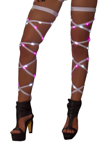 "Light up 100"" Leg Straps *Assorted Colors*"