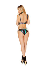 Iridescent Bikini set - PlaythingsMiami