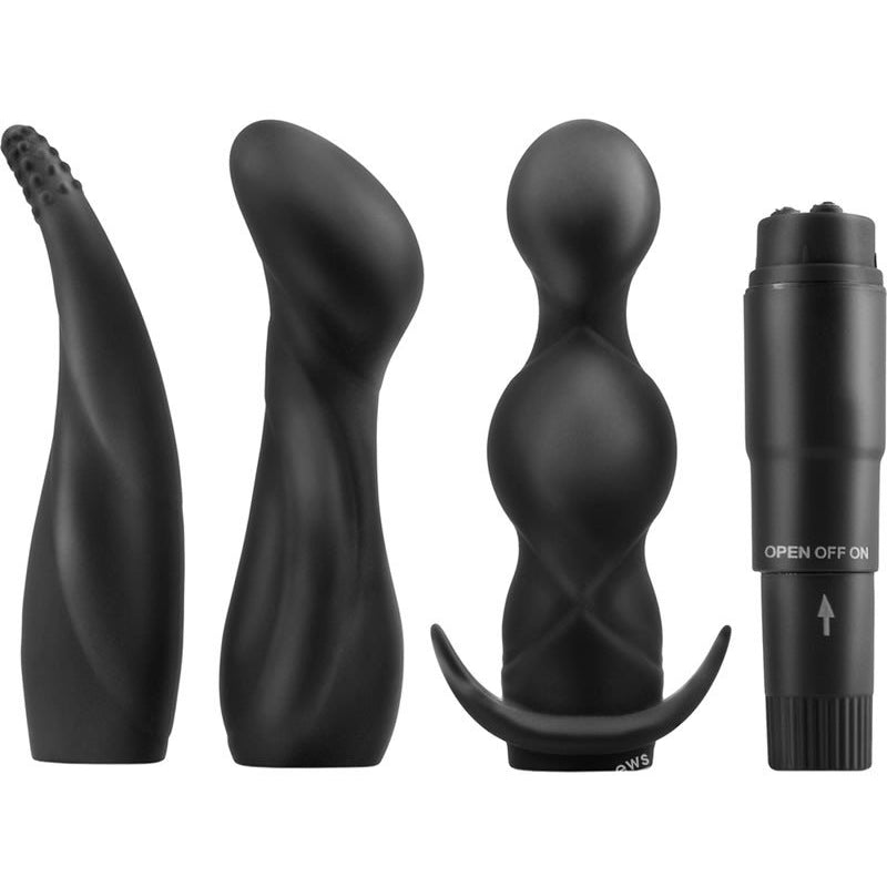 Anal Fantasy Collection Anal Adventure Kit - Black - PlaythingsMiami