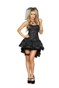 4456 - 4pc Black Widow Bride - PlaythingsMiami