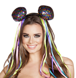 Multi Sequin Head Piece - PlaythingsMiami