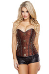 Elegant Corset with Front Clasp - PlaythingsMiami