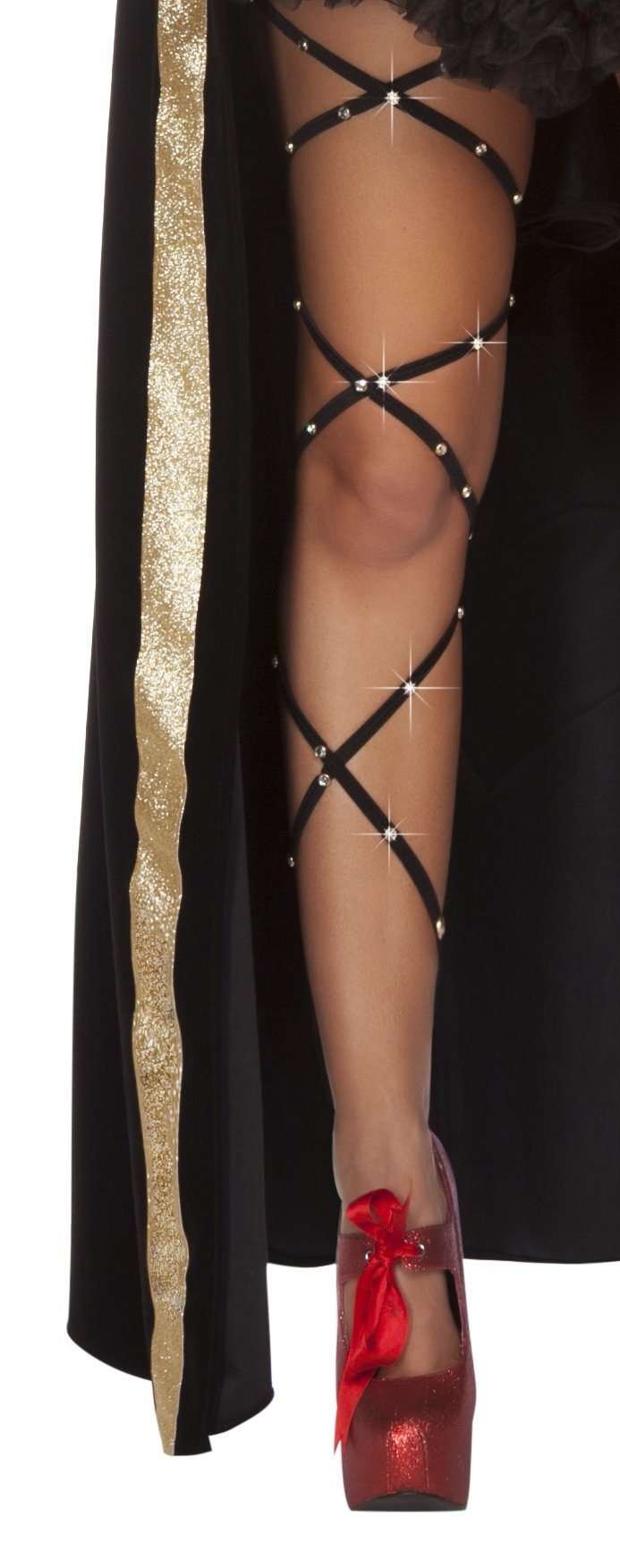 Rhinestone Thigh Wrap - PlaythingsMiami