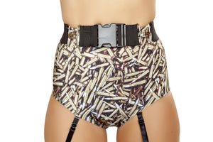 Belt with Fastener Buckle - PlaythingsMiami