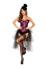 4826 - Roma Costume 3pc Burlesque Girl