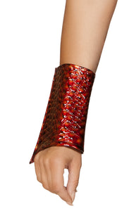 4838B - Roma Costume 1pc Dragon Slayer Wrist Cuffs
