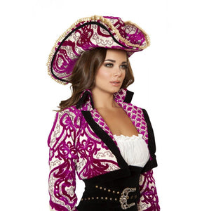 H4526 Precious Pirate Hat - Roma Costume Accessories,2014 Costumes