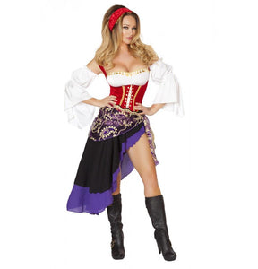 4532 6pc Sexy Gypsy Maiden Costume - Roma Costume New Products,Costumes,2014 Costumes - 1