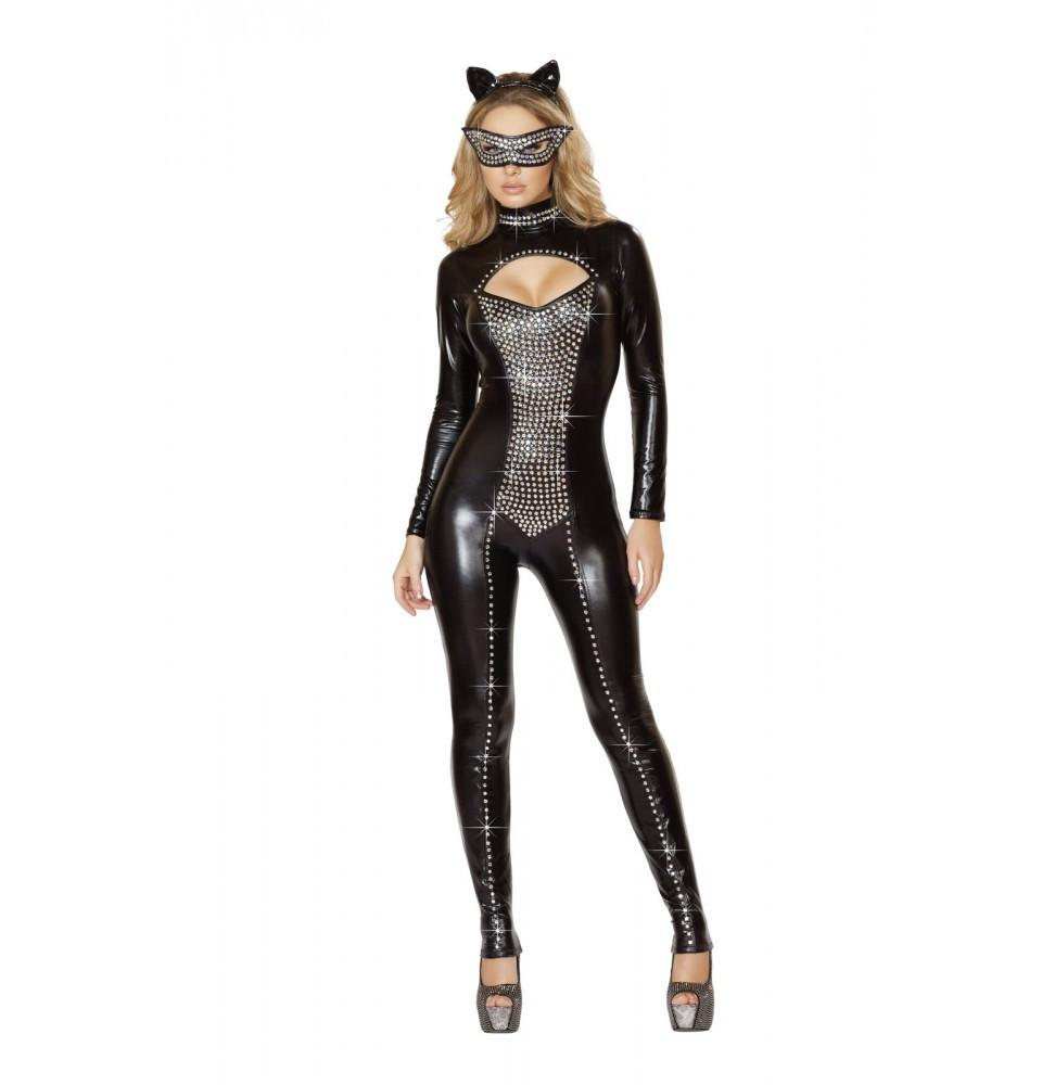 4513 2pc Seductive Kitty Cat Costume - Roma Costume Costumes,New Products,2014 Costumes - 1