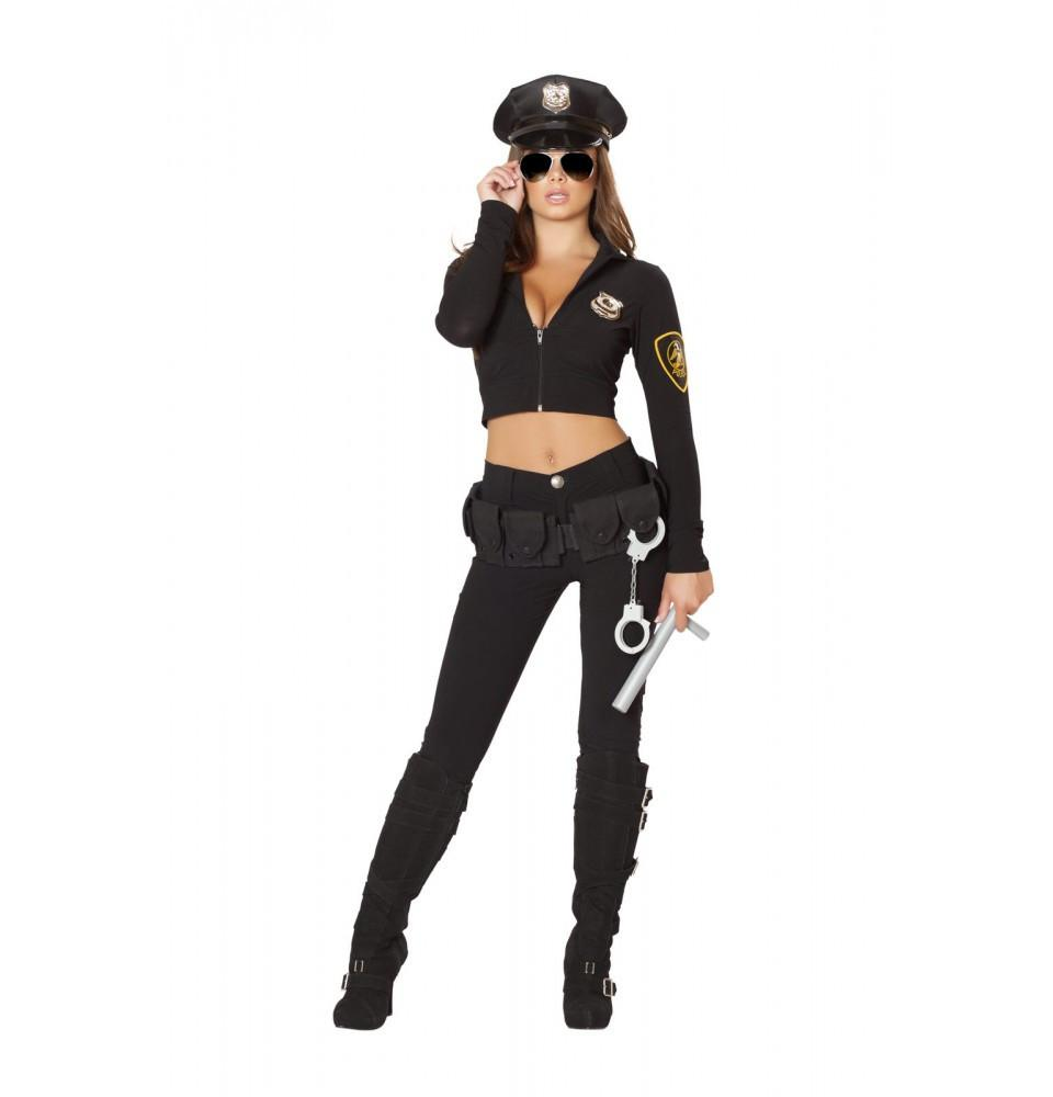 4501 6pc Seductive Cop Costume - Roma Costume New Products,Costumes,2014 Costumes - 1