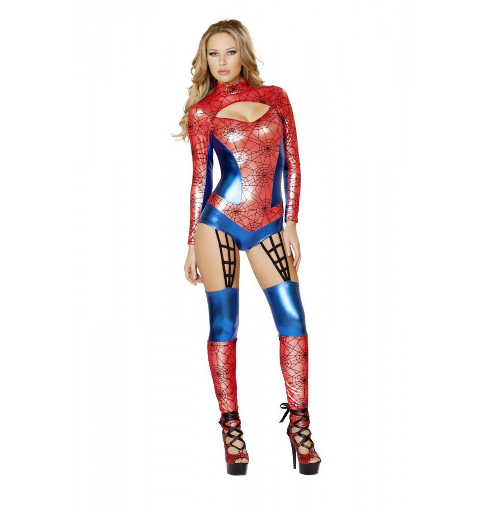 4489 1pc Web Crawler Costume - Roma Costume New Products,Costumes,2014 Costumes - 1