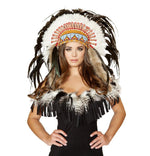H4471 Native American Headdress - Roma Costume New Products,Accessories,2014 Costumes