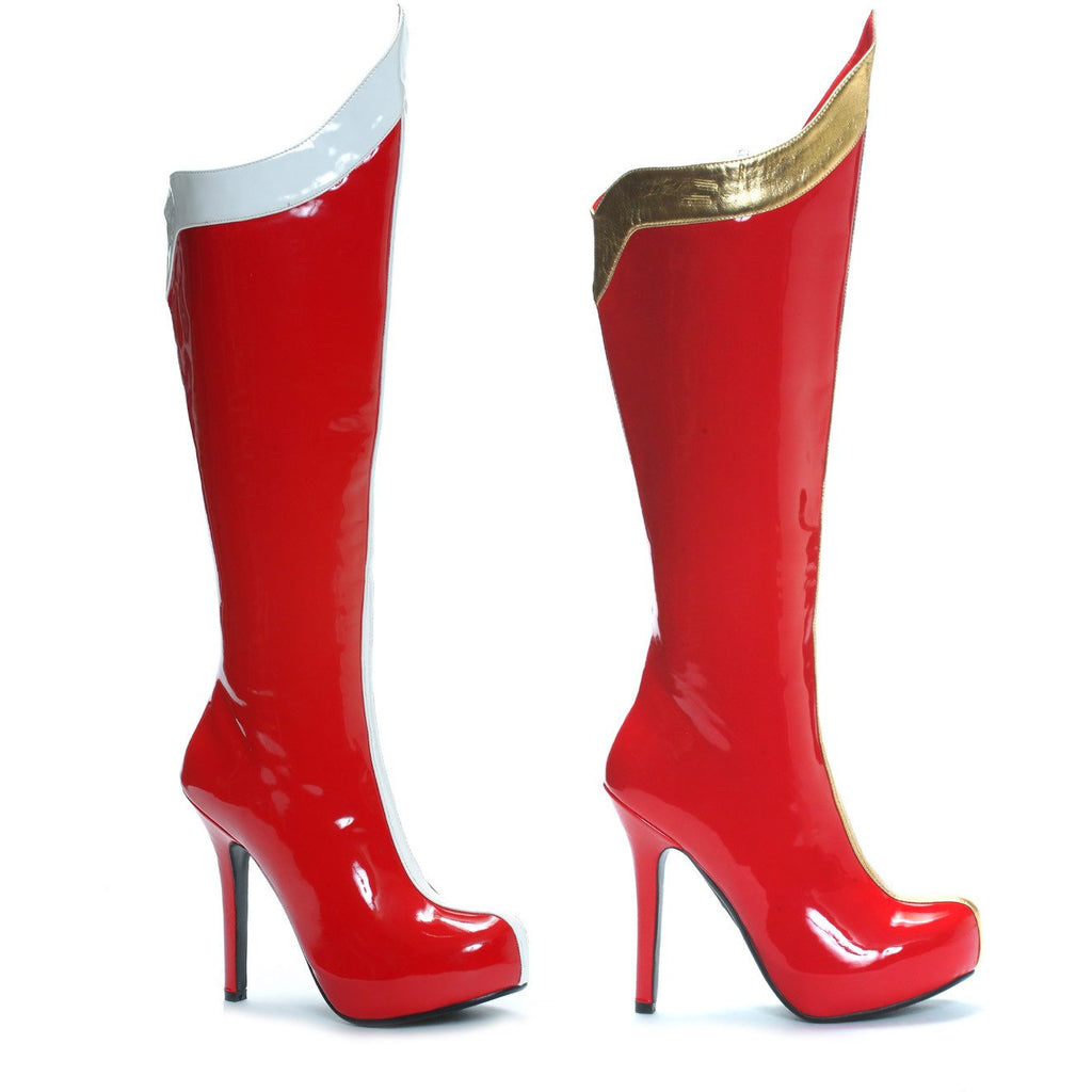 "5.5"" Heel Comet Super Hero Boots - PlaythingsMiami"